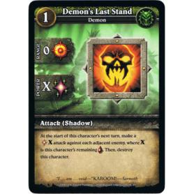 Demon's Last Stand