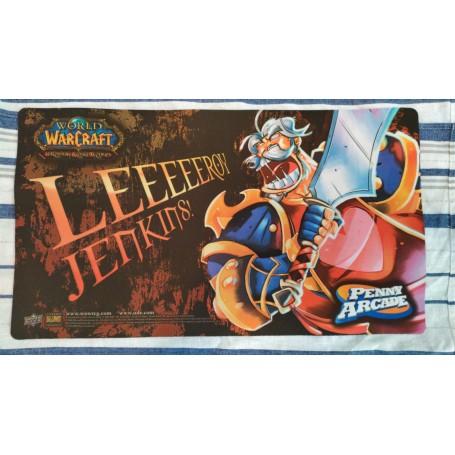Leeroy Jenkins - WOW TCG Playmat