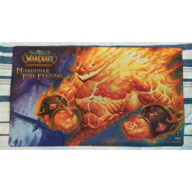 Fire Elemental - Midsummer Fire Festival - WOW TCG Playmat