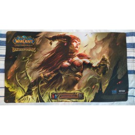 Alexstrasza Human Form - Battlegrounds - WOW TCG Playmat
