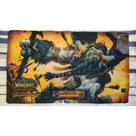Cairne, Earthmother's Chosen - Cairne Bloodhoof - Battlegrounds - WOW TCG Playmat