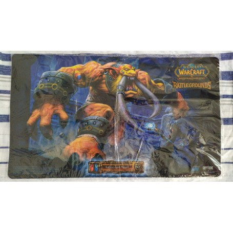 Master Troll - Gurubashi Berserker - Battlegrounds - WOW TCG Playmat