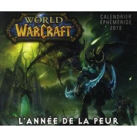 Calendrier World of Warcraft éphéméride 2010 - l'année de la peur