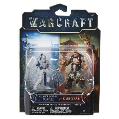 Alliance Soldier Vs Durotan - 2 Mini Figurines