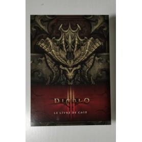 Affiche publicitaire cartonnée Diablo III Le Livre de Caïn