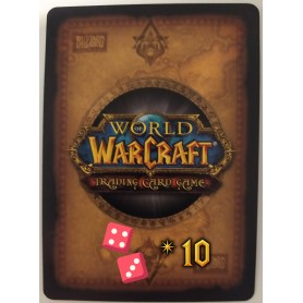 Lot de 10 cartes aléatoires World of Warcraft TCG - Français