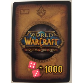Lot de 1000 cartes aléatoires World of Warcraft TCG - Français